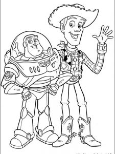 toy story coloring pages printable free