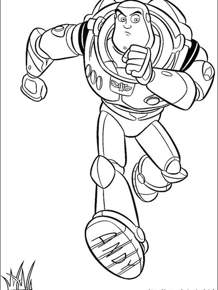 toy story coloring pages to print for free