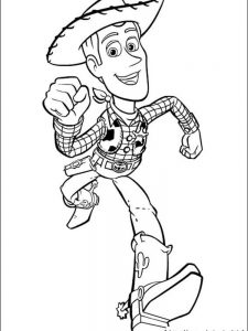 toy story gang coloring pages