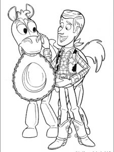 toy story jessie coloring pages