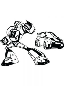 transformers animated coloring pages free