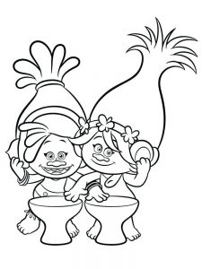 trolls movie coloring pages lady sparkle free