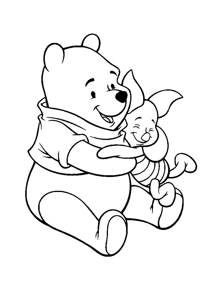 winnie the pooh and tigger coloring pages