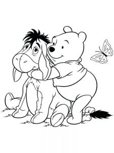 winnie the pooh coloring pages for adults