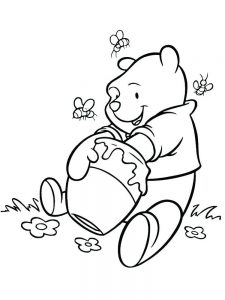 winnie the pooh coloring pages fr