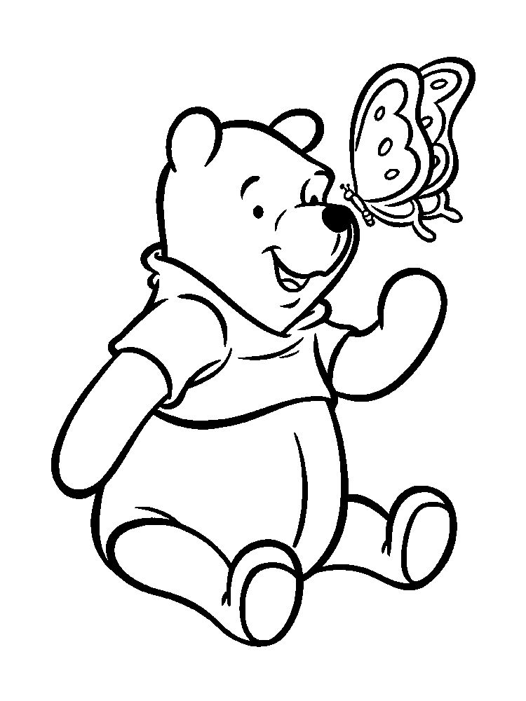 winnie the pooh coloring pages free online