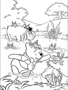 winnie the pooh coloring pages games