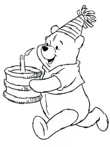 winnie the pooh coloring pages printable free