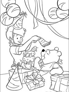 winnie the pooh kanga and roo coloring pages