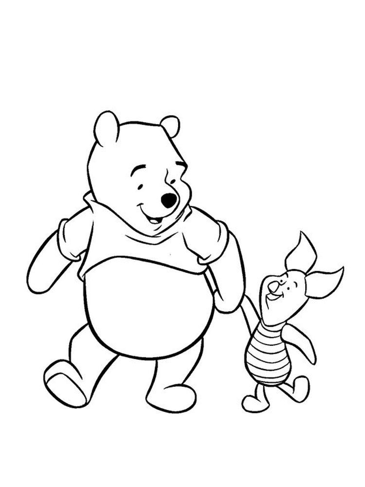 winnie the pooh printable coloring pages