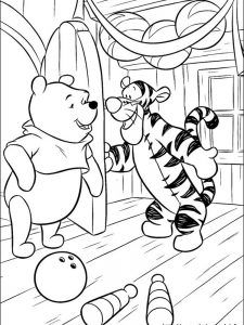 winnie the pooh summer coloring pages