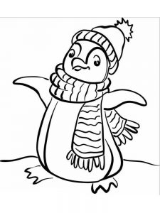 winter coloring pages free printable