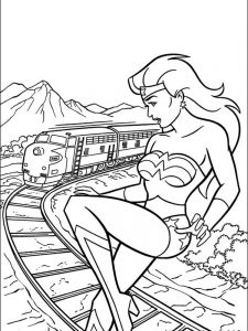 wonder woman coloring pages logo