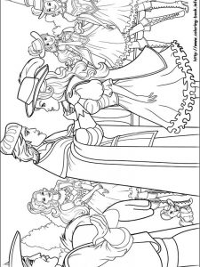 www.barbie colouring pages.com